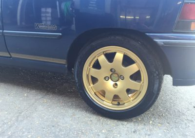 Renault Alloy Wheel Refurbishment